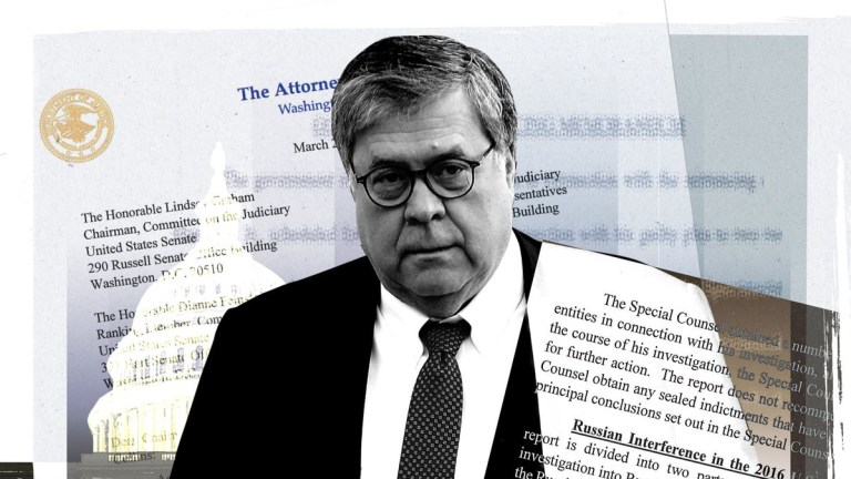 Barr's Own Investigator Says There Was No Intel Setup