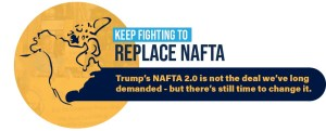 replace NAFTA control pharmaceutical prices