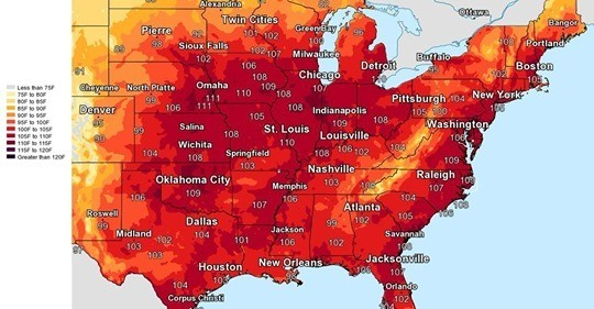 Heat Wave July 2019
