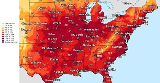 Heat Wave July 2019