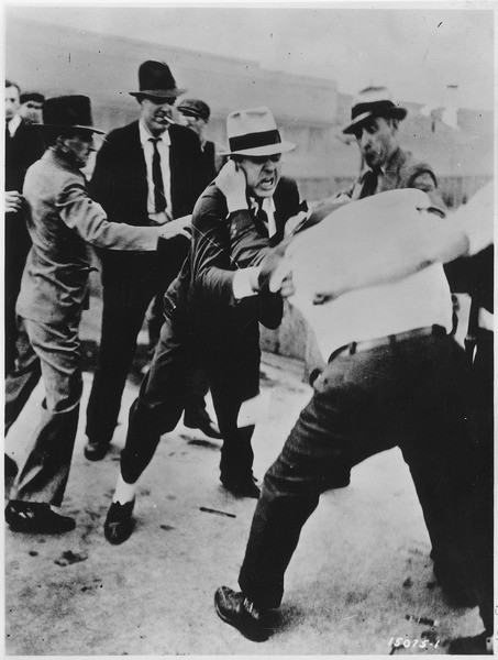Labor Strike, Ford Motor Company, 1937