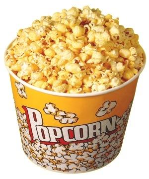 Popcorn in bucket