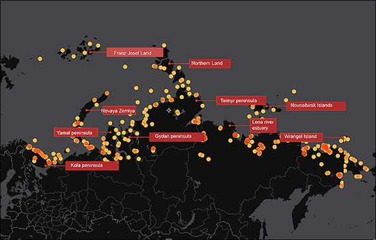 More than 100 sites polluted are highlighted on the list, but Greenpeace say even this is not exhaustive.