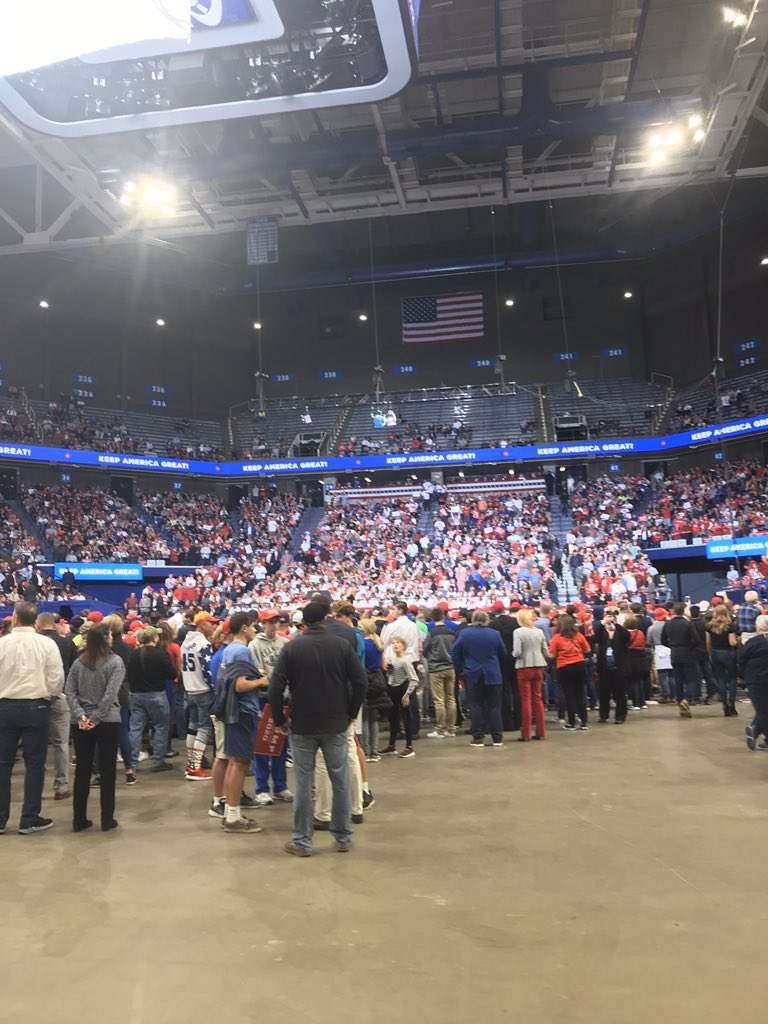 , Florida Man at speech in Kentucky declares that he's sold off enough of America, The Politicus