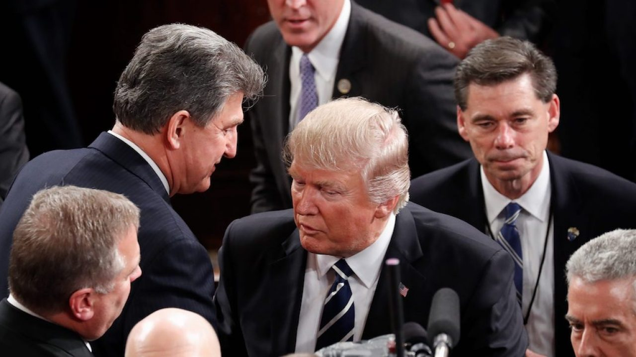 , Will Joe Manchin (D-WV) vote for Trump if Bernie is the nominee? To some loyalty goes one way., The Politicus
