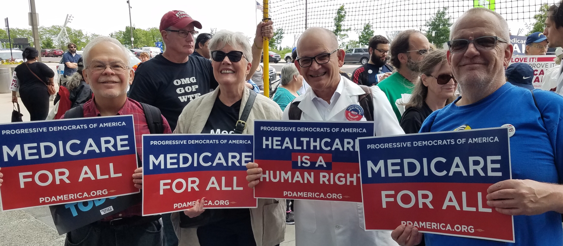 , After explaining Medicare-For-All to Right-Winger w/o using its name, she blurted: You are so nice!, The Politicus
