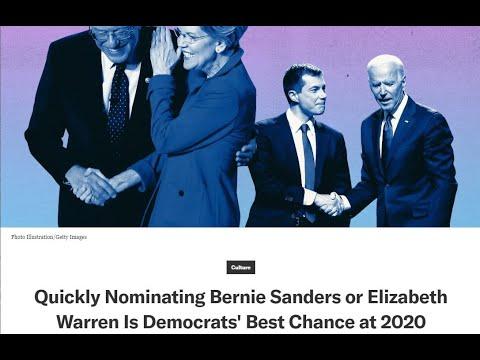 Democratic Strategist urges quick Sanders or Warren win