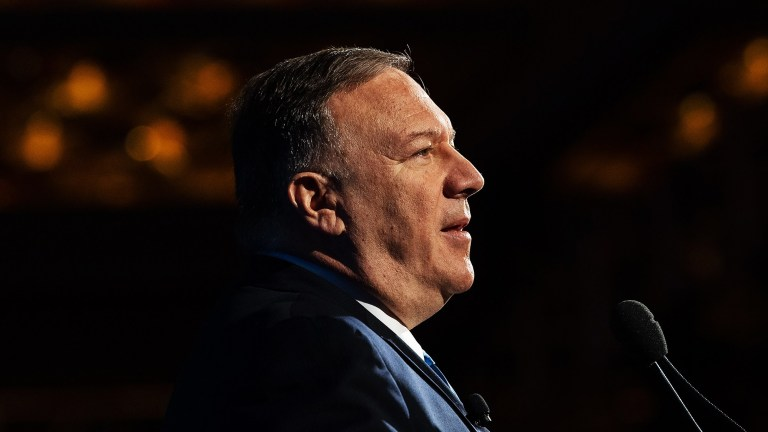 Pompeo blamed Iran on Obama as Chuck Todd called out Trump Administration failure. There's a danger.