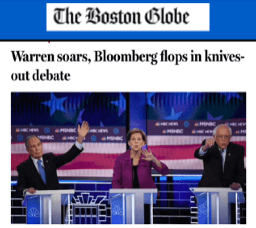 Turn on images to see the Boston Globe headline.