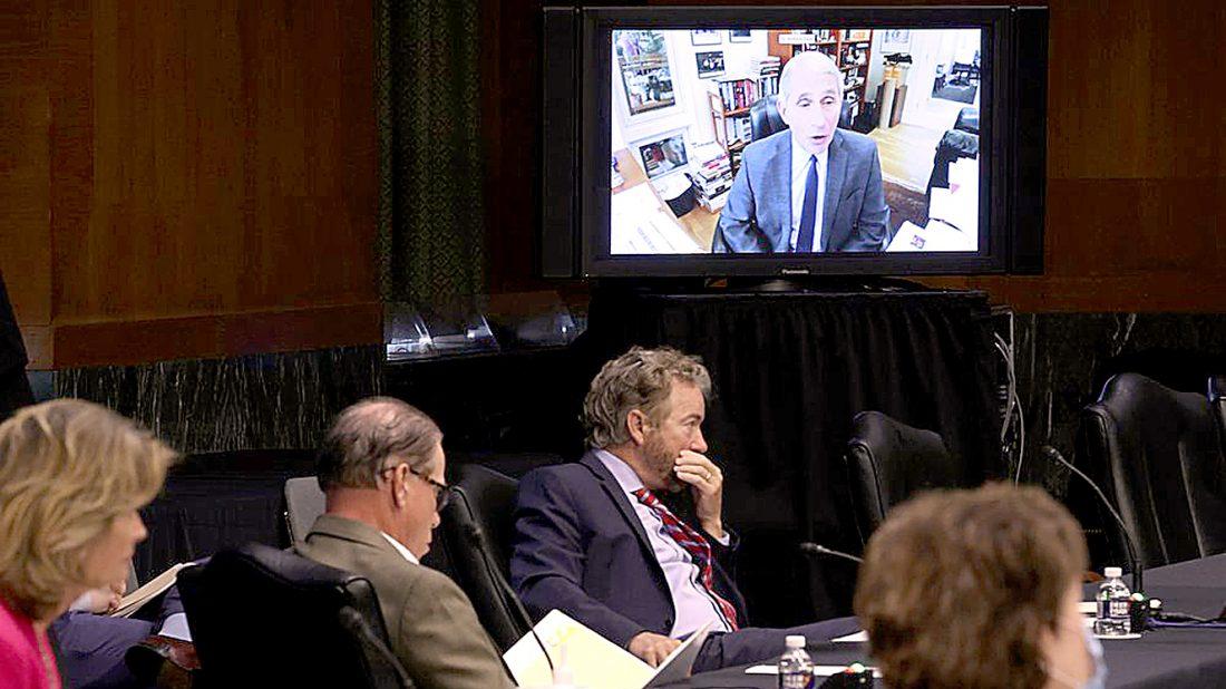 , Dr. Anthony Fauci slamdunks Senator Rand Paul's fake science, The Politicus