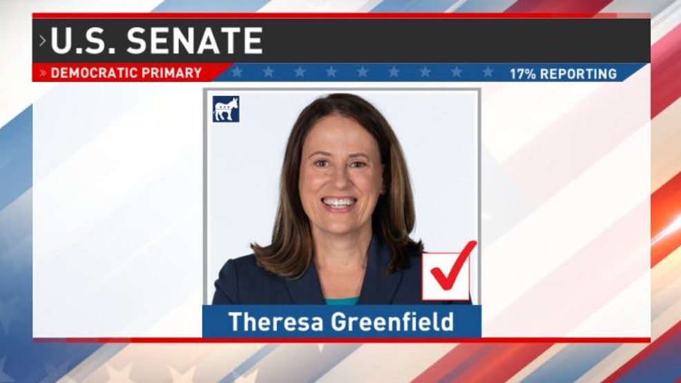 , IA-Sen: Greenfield (D) Wins Dem Primary, Let's Help Her Get Ready To End Moscow Mitch's Majority, The Politicus