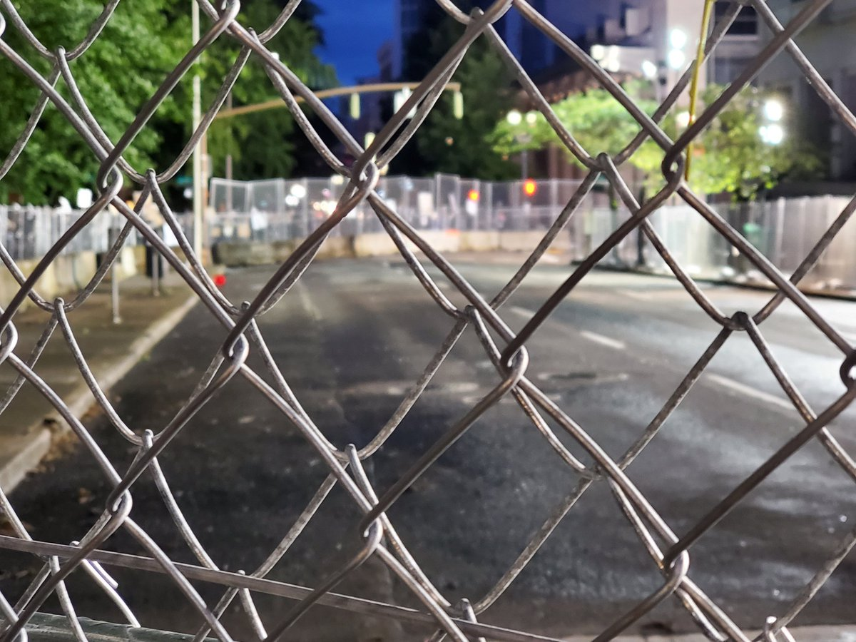 """, Still, Battle at Seattle: """"whose streets? Our streets!"""" Portland has a """"sacred fence"""", The Politicus"""