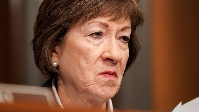 , Senator Susan Collins Losing by a Concerning 7% in Maine, The Politicus