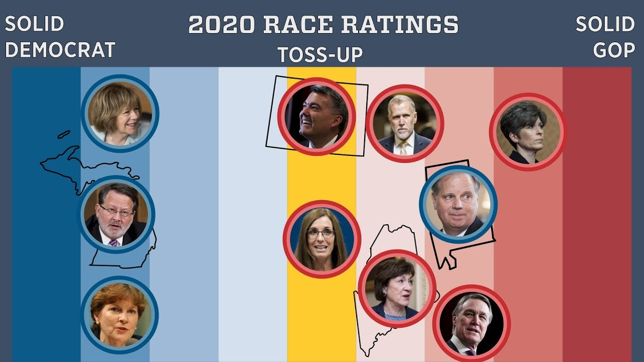 , AZ, IA, ME & NC-Sen: Data For Progress Poll Has Democrats Leading In All Four Races, The Politicus