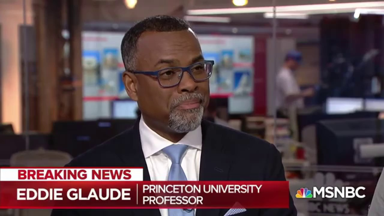 , Professor Dr. Eddie Glaude unloads on Trump's silly claim about his works for black folk., The Politicus