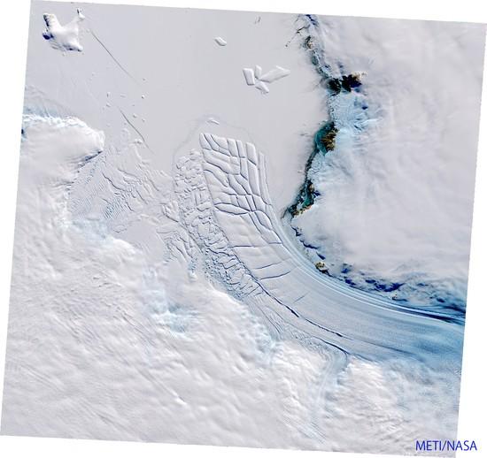 Shirase glacier, East Antarctica