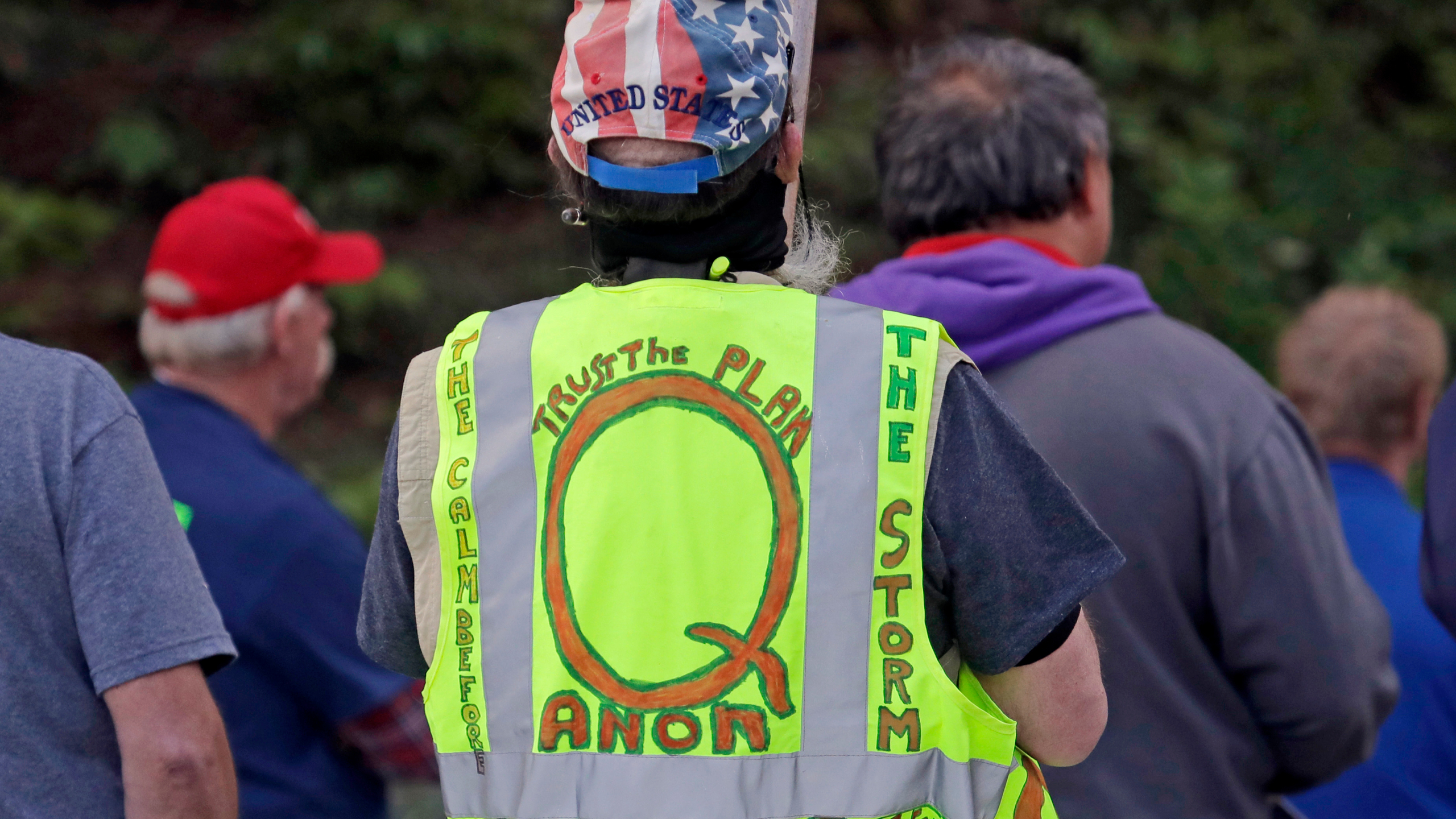, QAnon watch parties expecting violence dissolve into horror when Biden/Harris inaugurated, The Politicus