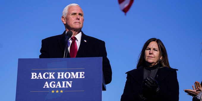 """couch-surfing Mike Pence is """"homeless"""""""