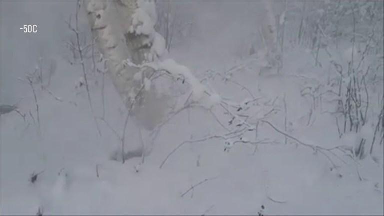 Siberia's peat climate bomb is burning despite minus fifty-eight degree Fahrenheit temperatures.