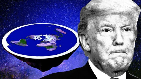 , Trump's law: is the Earth more spherical than round… like a pillowcase full of doorknobs, The Politicus