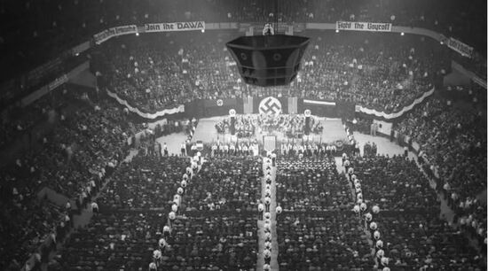 , The Nazi Stage at CPAC is the Odal Rune, The Politicus