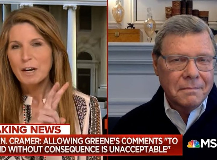 Conservative Host on MSNBC: The Left was right about everything. ... End of story.