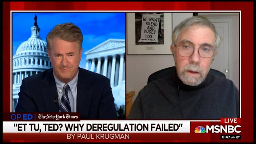 Will Texas catastrophe end Post Reagan deregulation era?