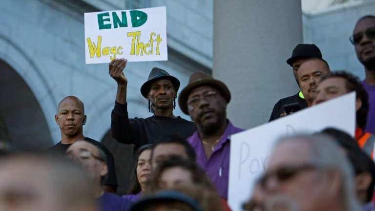 Why not supporting massive minimum wage increases is the sanctioning of wage theft.