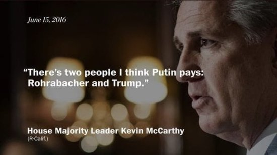 , McCarthy identified other guy as paid by Putin, now claims Middle East terrorists coming over border, The Politicus