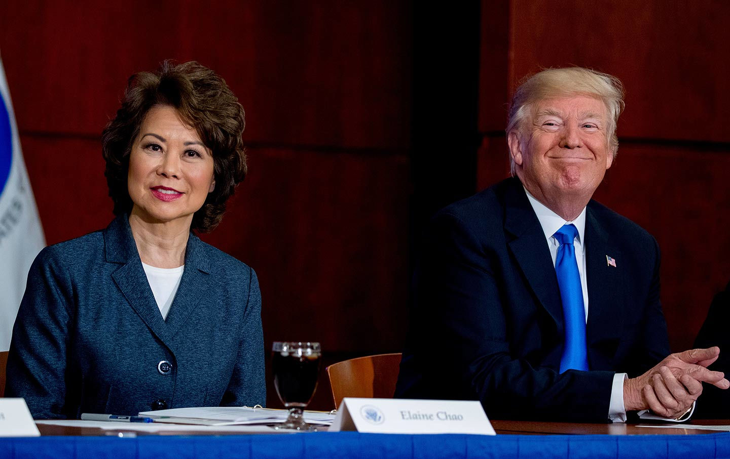 , Shocking (not): Elaine Chao Accused of Misusing Her Position as Sec'y of Transportation, The Politicus