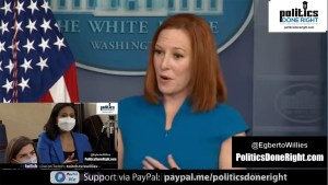 Jen Psaki swats silly Fox News-like questions about Biden & Maxine Waters' Chauvin trial comments