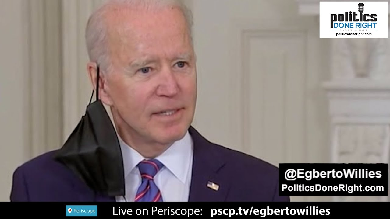 Biden puts Republicans on notice on supporting the infrastructure bill. An unchallengeable attack.