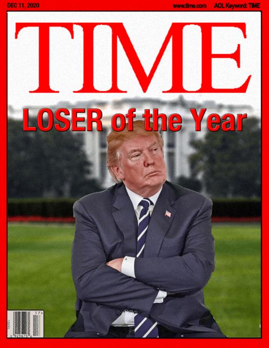 Donald J. Trump, #LOSER.