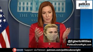 Jen Psaki is so cool as she dismantles an incompetent Newsmax Right-Wing reporter.