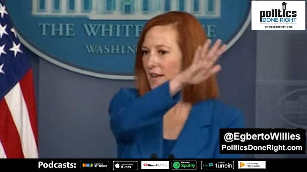 Watch Jen Psaki use reporters questions to throw shade on a Republican Party in complete disarray