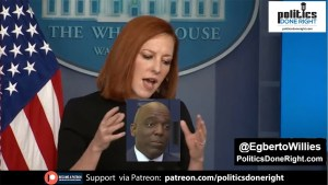 Jen Psaki dismisses reporter: Less worried about press conferences & political games being played