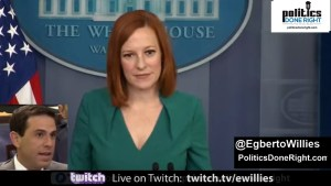 The reporter asked Jen Psaki a question he should have asked Republicans and she schooled him for it