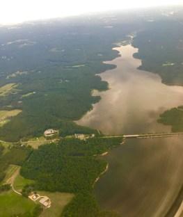 Landing in the green, lush Raleigh, North Carolina