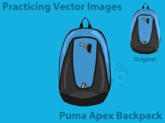 Vector Drawing - Puma Apex Backpack (My Bag)