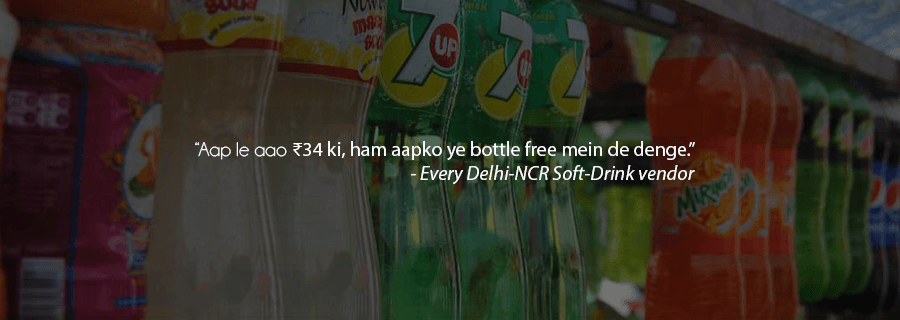 The Curious Case Of Delhi-NCR And The Soft-Drink Bottle