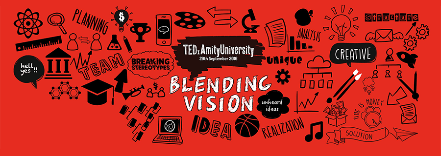 Here's To The Crazy Ones, The Misfits and TEDxAmityUniversity
