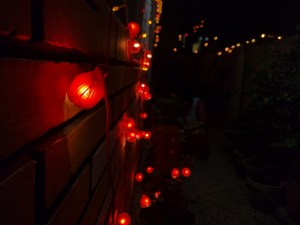 of celebrating Diwali with family