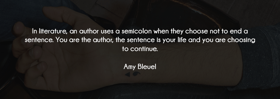 I Got Inked: The Why, What And How Of My Modified Semicolon Tattoo