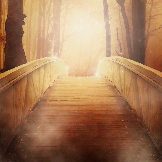 A mystical bridge