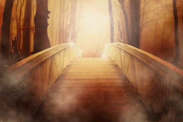 A mystical bridge