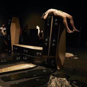 Martin O'Brien art installation 2020-21