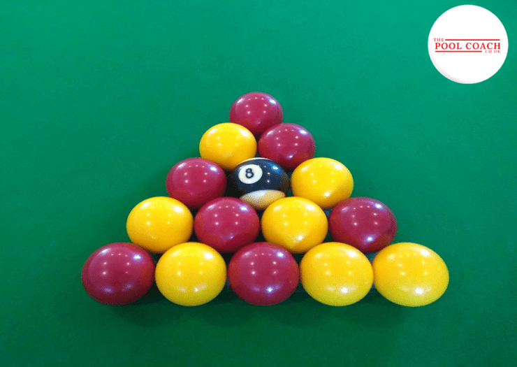 8Ball Pool Balls Set Up