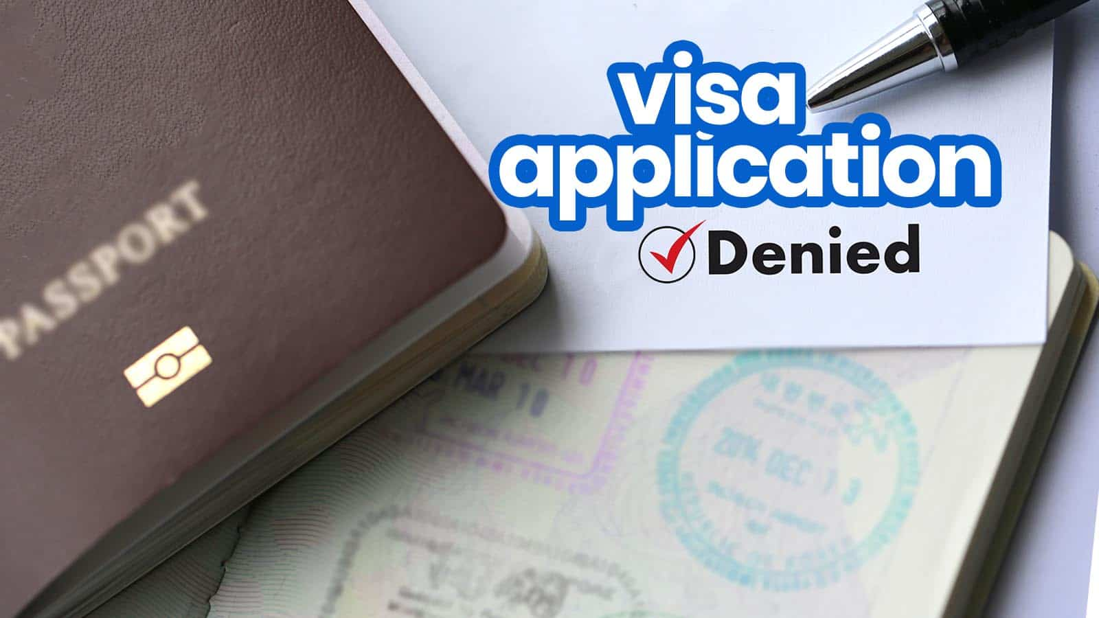 Online Travel Agent Cover Letter Visa Application Denied 10 Common Reasons And How To Avoid Them