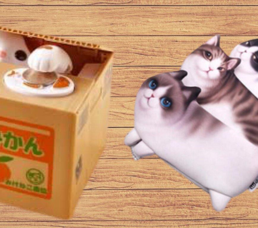 cute kawaii cat items gifts