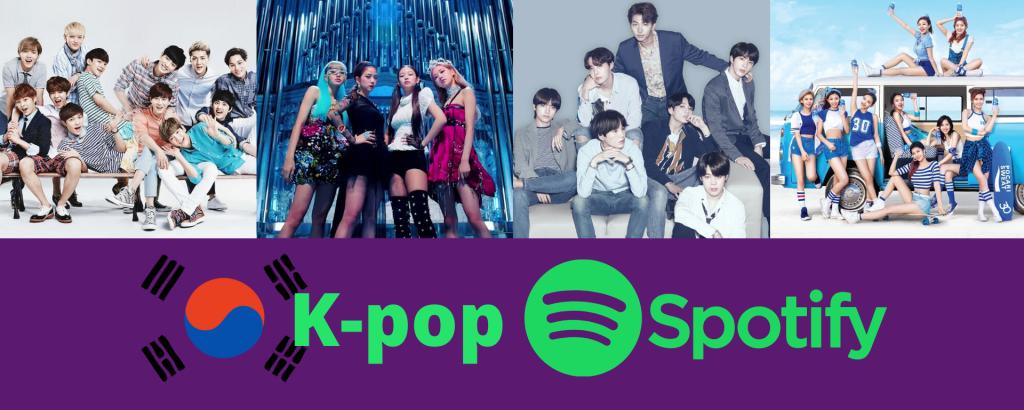 Kpop spotify dominating world